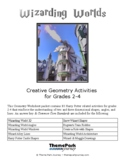 Wizarding Worlds Harry Potter Geometry Activities