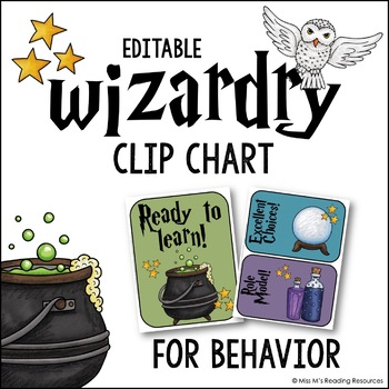 Wizardry Behavior Chart {Editable}