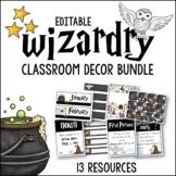 Classroom Decor Bundle Wizardry Theme