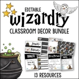Wizardry Classroom Decor BUNDLE