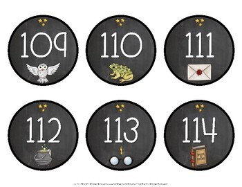 Wizardry Number Line 1-120
