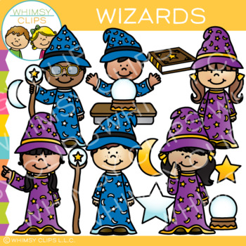 Wizards Clip Art