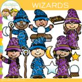 Kids Wizards Theme Clip Art