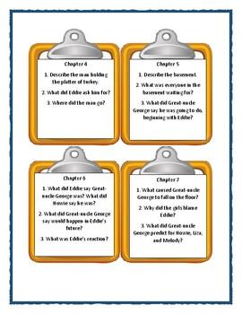Bailey School Kids WIZARDS DO ROAST TURKEYS - Discussion Cards
