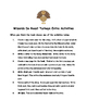 Wizards Do Roast Turkeys by Debbie Dadey Comprehension Packet