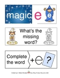 Wizards, Words and the 'Magic e' -- 3 Literacy Center Activities