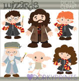 Wizards and Witches Clipart