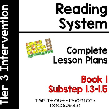 Wilson Lesson Plans Substep (Book) 1 Tap-It-Out