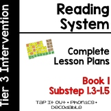 Reading System Lesson Plans Substep (Book) 1 Tap It Out