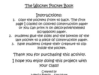 Wocket Pocket Book