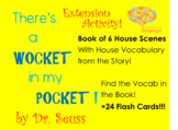 Wocket in my Pocket! Dr Seuss Extension Activity House Boo