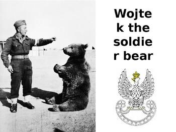 Wojtek the World War Two Soldier Bear