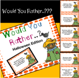 Would you rather..?? Halloween Edition