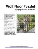 Wolf 100 Piece Floor Puzzle