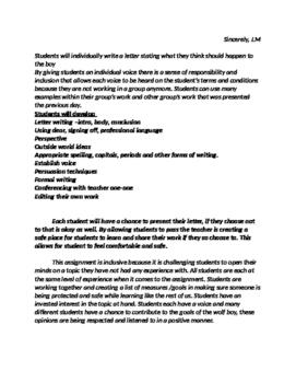 Wolf Boy Drama and writing