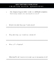 Wolf Brother, A Novel Study: Chapter 7 / Questions Only / Student Worksheets