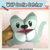 Wolf Cootie Catcher - Fortune Teller Craft