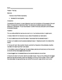 Wolf-Elk Limiting Factor Activity Packet
