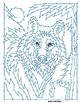 Wolf Extreme Dot-to-Dot / Connect the Dots PDF