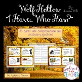 Wolf Hollow - I Have...Who Has? Game