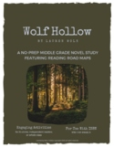 Wolf Hollow | No-Prep Novel Study | Middle School Reading