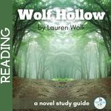 Wolf Hollow Novel Study Guide
