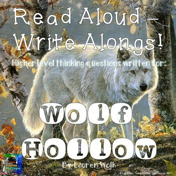 Wolf Hollow Read Aloud Write Along