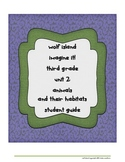 Wolf Island 3rd Grade Student Guide