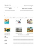 Cub Scout- Wolf Scout: Call of the Wild Req.2&3a Work Sheet