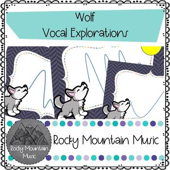 Wolf Vocal Exploration Flash Cards