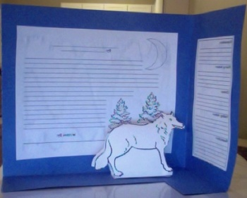 Wolf / White Fang 3D Book Report