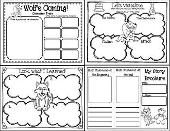 Wolf's Coming! (Story companion with nonfiction activities on Wolves included)