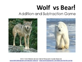 Wolf vs Bear! Addition and Subtraction Game