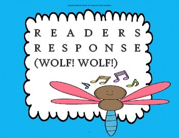 Wolf!Wolf! - 2nd Grade ( Trifolds + Activities)