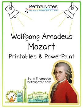 Wolfgang Amadeus MOZART: Handouts & Assessment