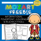Wolfgang Amadeus Mozart (Famous Composer Freebie!)
