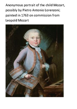 Wolfgang Amadeus Mozart Crossword