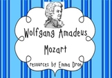 Wolfgang Amadeus Mozart! Resource pack with information an