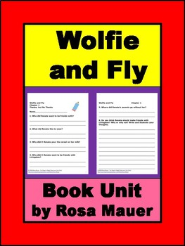 Wolfie and Fly Book Unit
