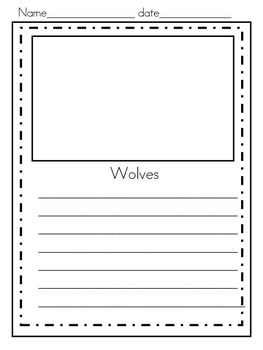Wolves Non-Fiction Pack