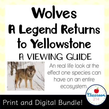 Wolves A Legend Returns to Yellowstone