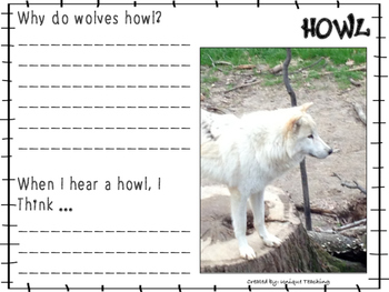 Wolves - Informational Text