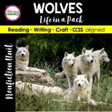 Wolves Informational Unit - Life in a Pack