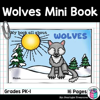 Wolves  Mini Book for Early Readers