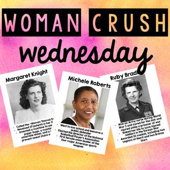 Woman Crush Wednesday - Women's History