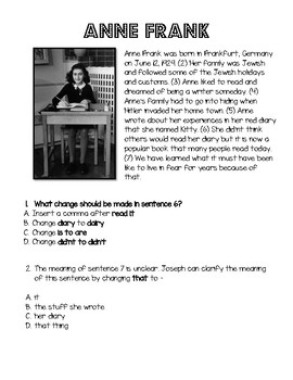 Women Leaders - 5 minute 4th grade writing STAAR prep