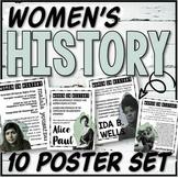 Women's History Poster Set & Task Cards (Set #1)