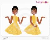 Woman character avatar pack PNG clip art (Cassie B14)