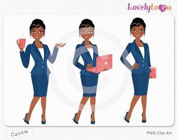 Woman graphics character pack set PNG clip art (Cassie R10)