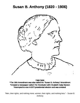 Woman's Suffrage Worksheets II
